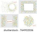abstract background on a theme... | Shutterstock .eps vector #764932036