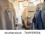 seat on tour bus | Shutterstock . vector #764939056