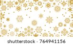 rich panoramic christmas... | Shutterstock .eps vector #764941156