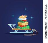 vector illustration stack of...   Shutterstock .eps vector #764956966