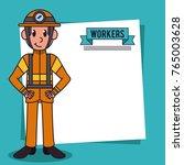 workers and jobs cartoon   Shutterstock .eps vector #765003628
