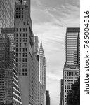 manhattan buildings   empire... | Shutterstock . vector #765004516