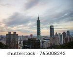 taipei  taiwan   november 9th ... | Shutterstock . vector #765008242