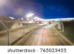 blurred image background  speed ... | Shutterstock . vector #765023455