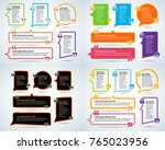 color quote blank templates.... | Shutterstock .eps vector #765023956
