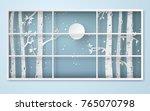 winter season and merry... | Shutterstock .eps vector #765070798