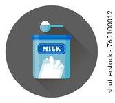 vector cartoon illustration of... | Shutterstock .eps vector #765100012