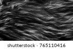black wool texture background ... | Shutterstock . vector #765110416