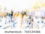 colorful silhouette of people... | Shutterstock . vector #765134386