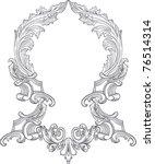 vintage frame design | Shutterstock .eps vector #76514314