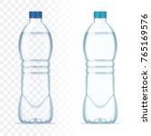 plastic realistic vector... | Shutterstock .eps vector #765169576