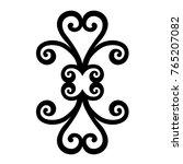 tattoo tribal maori vector... | Shutterstock .eps vector #765207082
