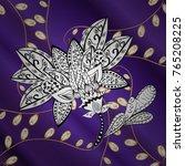 vector illustration. ornamental ... | Shutterstock .eps vector #765208225