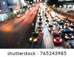 abstract blurred or defocused...   Shutterstock . vector #765243985