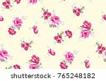 flowers pattern.for textile ... | Shutterstock . vector #765248182