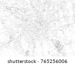 milan streets  city map  italy  ... | Shutterstock .eps vector #765256006