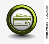 3d Vector Credit Cards Icon...