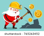vector cartoon illustration of... | Shutterstock .eps vector #765263452