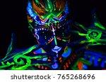 close up portrait of an...   Shutterstock . vector #765268696