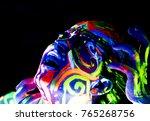 close up portrait of an...   Shutterstock . vector #765268756