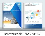 corporate business cover book... | Shutterstock .eps vector #765278182