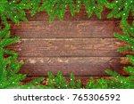 festive christmas background.... | Shutterstock . vector #765306592