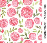 beautiful seamless pattern with ... | Shutterstock . vector #765322708