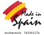 seal of quality with country... | Shutterstock .eps vector #765341176