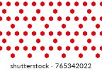 module in the form of a hexagon ... | Shutterstock .eps vector #765342022