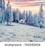 Beautiful Winter Sunrise In...