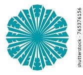 snowflake. element for winter...   Shutterstock .eps vector #765376156