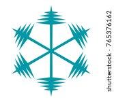 snowflake. element for winter...   Shutterstock .eps vector #765376162