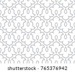 floral pattern. wallpaper... | Shutterstock .eps vector #765376942