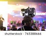 videographer professional...   Shutterstock . vector #765388666