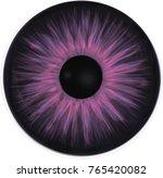 violet eye iris   Shutterstock .eps vector #765420082