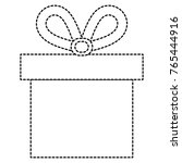 gift box present icon | Shutterstock .eps vector #765444916