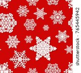 christmas and new year seamless ...   Shutterstock .eps vector #765445942