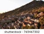 the yangchan tulou  the chinese ... | Shutterstock . vector #765467302
