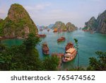 halong bay vietnam  this is one ... | Shutterstock . vector #765474562