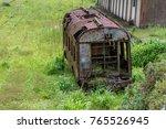 Railway Wagon Abandoned Amidst...