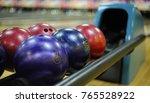bowling alley  bowling ball | Shutterstock . vector #765528922