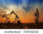 the oil pump  industrial... | Shutterstock . vector #765532432