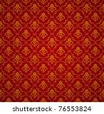 Red Seamless Wallpaper Pattern...