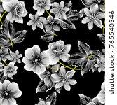 abstract elegance seamless... | Shutterstock .eps vector #765540346