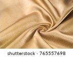 fabric made of silk fabric...   Shutterstock . vector #765557698