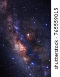 milky way galaxy with stars and ... | Shutterstock . vector #765559015