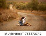 happy young family spending...   Shutterstock . vector #765573142