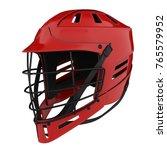 classic lacrosse helmet.... | Shutterstock . vector #765579952