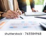 administrator business man... | Shutterstock . vector #765584968