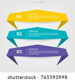 banner paper tag background for ... | Shutterstock .eps vector #765593998